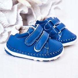 Apawwa Dziecięce Sportowe Buty Niebieskie Billie 4