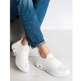 Lekkie Buty Sportowe MCKEYLOR białe 3