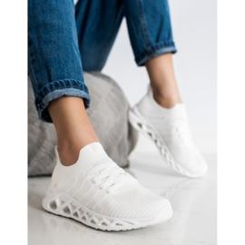 Lekkie Buty Sportowe MCKEYLOR białe 2