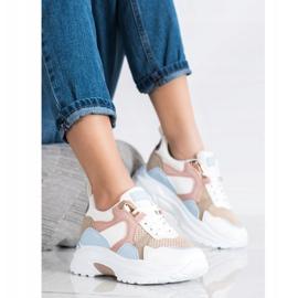 SHELOVET Kolorowe Sneakersy wielokolorowe 1