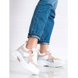 SHELOVET Kolorowe Sneakersy wielokolorowe 3