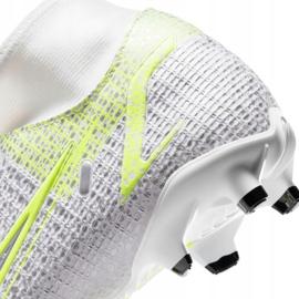 Buty piłkarskie Nike Mercurial Superfly 8 Academy FG/MG M CV0843 107 białe 4