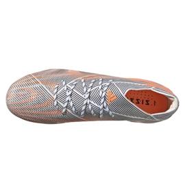 Buty piłkarskie adidas Nemeziz.1 Ag M FY0814 wielokolorowe pomarańczowe 2