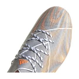 Buty piłkarskie adidas Nemeziz.1 Ag M FY0814 wielokolorowe pomarańczowe 3