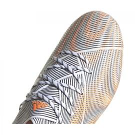 Buty piłkarskie adidas Nemeziz.1 Ag M FY0814 wielokolorowe pomarańczowe 8