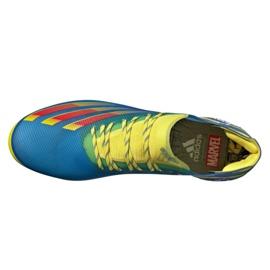 Buty piłkarskie adidas X Ghosted.1 Fg M FY1223 wielokolorowe wielokolorowe 2