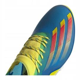 Buty piłkarskie adidas X Ghosted.1 Fg M FY1223 wielokolorowe wielokolorowe 3