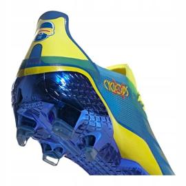 Buty piłkarskie adidas X Ghosted.1 Fg M FY1223 wielokolorowe wielokolorowe 4