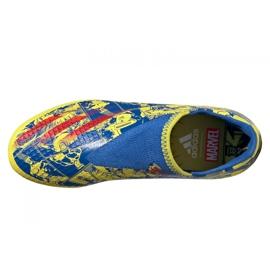 Buty piłkarskie adidas X Ghosted.3 Ll Fg Jr GZ7557 żółte wielokolorowe 3