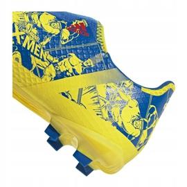 Buty piłkarskie adidas X Ghosted.3 Ll Fg Jr GZ7557 żółte wielokolorowe 4