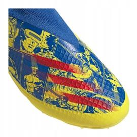 Buty piłkarskie adidas X Ghosted.3 Ll Fg Jr GZ7557 żółte wielokolorowe 5