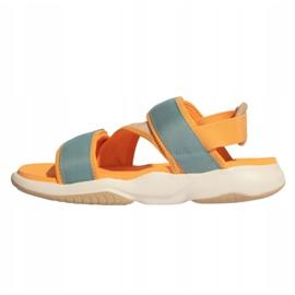 Sandały adidas Terrex Sumra W FX6049 niebieskie pomarańczowe 1