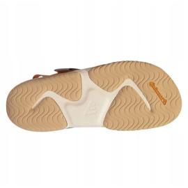 Sandały adidas Terrex Sumra W FX6049 niebieskie pomarańczowe 5