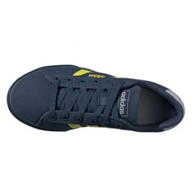 Buty adidas Daily Jr FY7199 czarne granatowe 3
