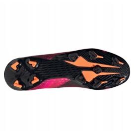 Buty piłkarskie adidas X Ghosted.3 Fg M FW6945 różowe grafitowy, różowy 2