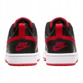 Buty Nike Court Borough Low 2 Jr BQ5448-007 czarne 1