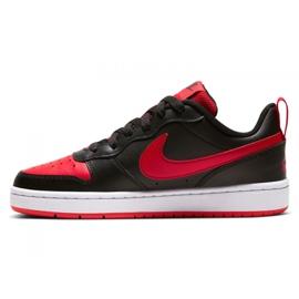 Buty Nike Court Borough Low 2 Jr BQ5448-007 czarne 4