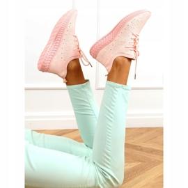 Buty sportowe skarpetkowe różowe 7819 LT.PINK 3