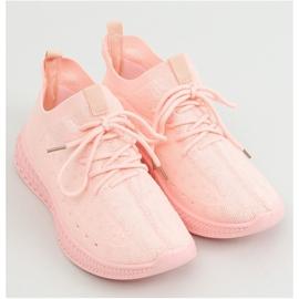 Buty sportowe skarpetkowe różowe 7819 LT.PINK 1