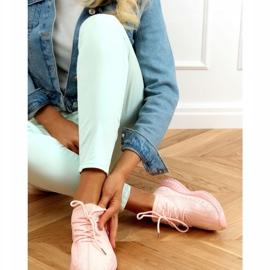 Buty sportowe skarpetkowe różowe 7819 LT.PINK 2
