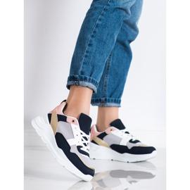 SHELOVET Stylowe Sneakersy Z Siateczką wielokolorowe 2