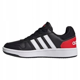 Buty adidas Hoops 2.0 Jr FY7015 czarne 1