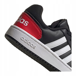 Buty adidas Hoops 2.0 Jr FY7015 czarne 3