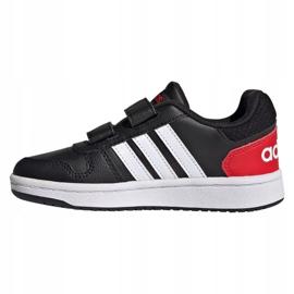 Buty adidas Hoops 2.0 C Jr FY9442 czarne 1
