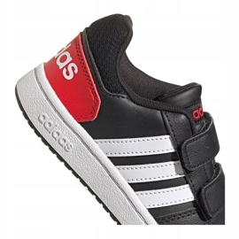 Buty adidas Hoops 2.0 C Jr FY9442 czarne 2