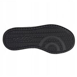 Buty adidas Hoops 2.0 C Jr FY9442 czarne 5
