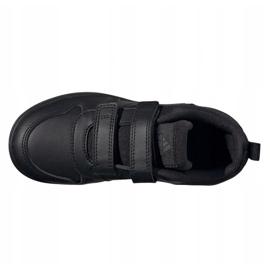 Buty adidas Tensaur Jr S24048 brązowe czarne 4