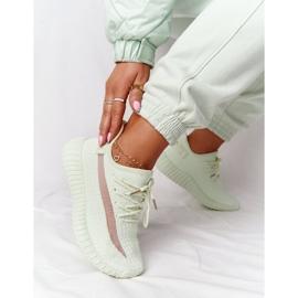 PS1 Damskie Sportowe Buty Sneakersy Jasnozielone Amazing 2
