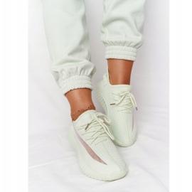 PS1 Damskie Sportowe Buty Sneakersy Jasnozielone Amazing 4