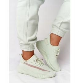 PS1 Damskie Sportowe Buty Sneakersy Jasnozielone Amazing 5