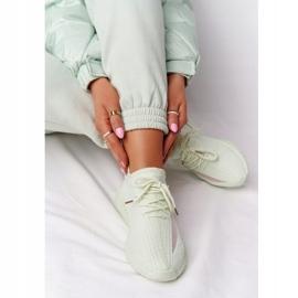 PS1 Damskie Sportowe Buty Sneakersy Jasnozielone Amazing 6