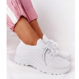 PS1 Damskie Sportowe Buty Sneakersy Białe Ruler 4