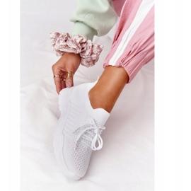 PS1 Damskie Sportowe Buty Sneakersy Białe Ruler 3