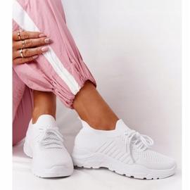 PS1 Damskie Sportowe Buty Sneakersy Białe Ruler 5