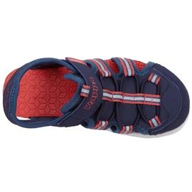 Buty dla dzieci Kappa Kyoko granatowo-pomarańczowe 260884K 6744 granatowe 1