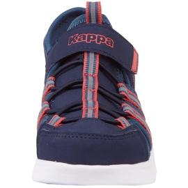 Buty dla dzieci Kappa Kyoko granatowo-pomarańczowe 260884K 6744 granatowe 3