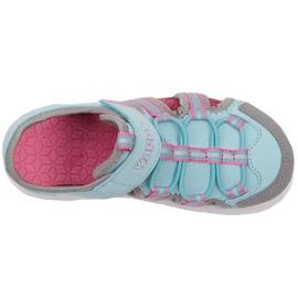 Buty dla dzieci Kappa Kyoko niebiesko-szare 260884K 6316 niebieskie różowe 1
