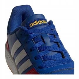 Buty adidas Hoops 2.0 Jr FY7016 granatowe niebieskie 3