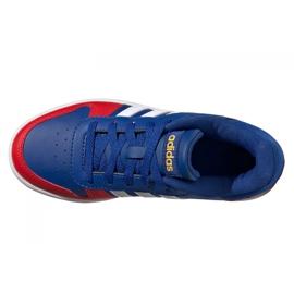 Buty adidas Hoops 2.0 Jr FY7016 granatowe niebieskie 4