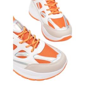 Vices FF-1-67-orange białe pomarańczowe wielokolorowe 1