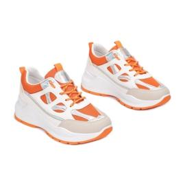 Vices FF-1-67-orange białe pomarańczowe wielokolorowe 2