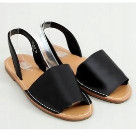 Sandałki damskie czarne TU150P Black 1