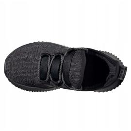Buty adidas Kaptir Jr EF7243 białe czarne 4