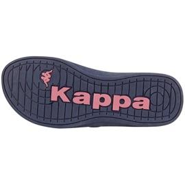 Klapki damskie Kappa Pahoa granatowe 242668 6721 3