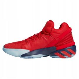 Buty do koszykówki adidas D.O.N. Issue #2 M FX6519 wielokolorowe czerwone 1