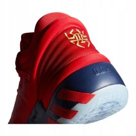 Buty do koszykówki adidas D.O.N. Issue #2 M FX6519 wielokolorowe czerwone 2
